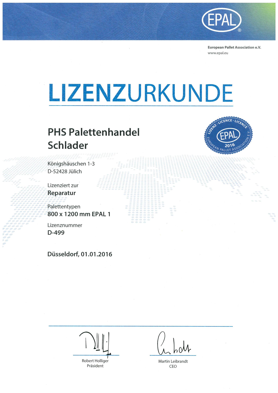 Phs Palettenhandel